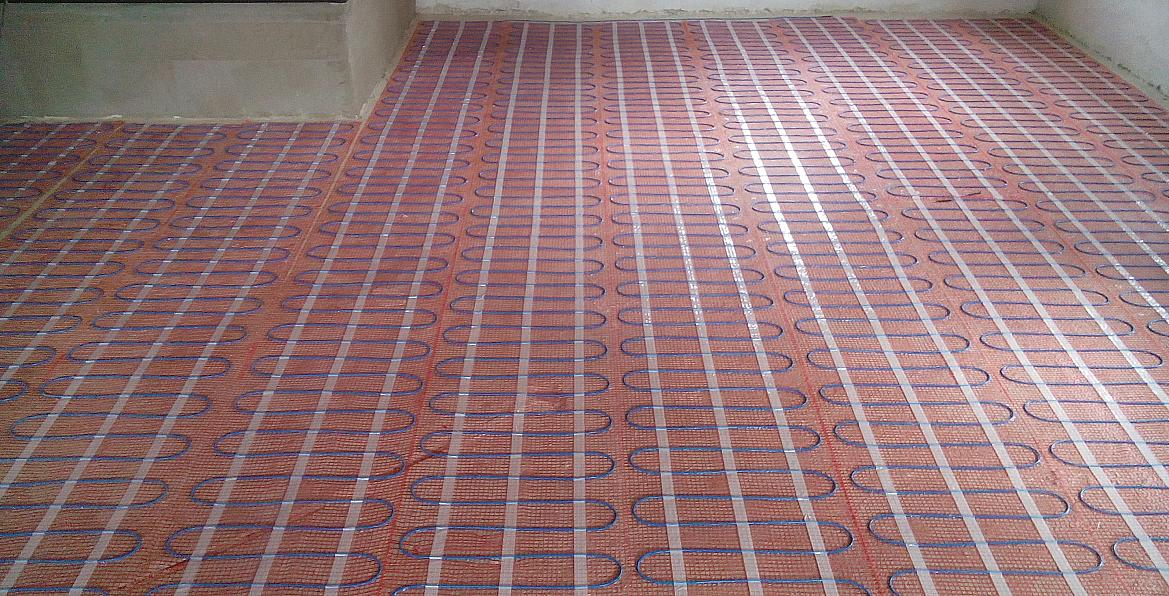 Electrical floor heating